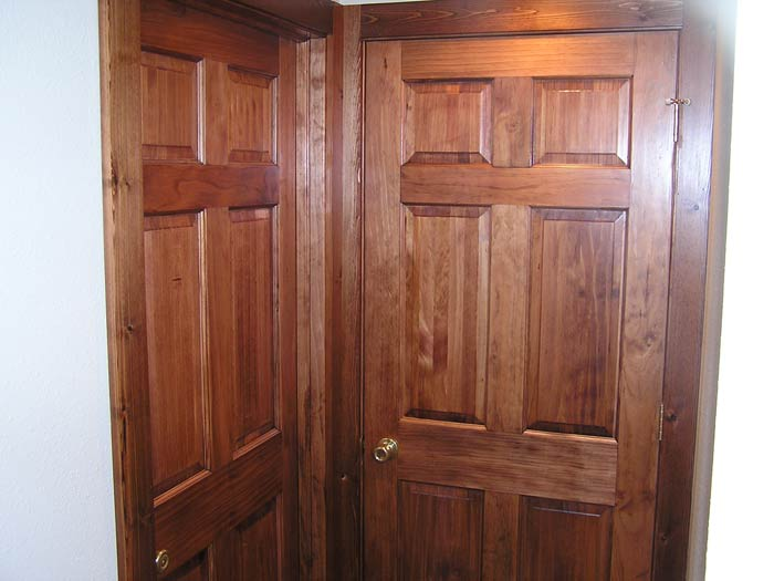 ... Doors: Solid Core 6 Panel Clear Pine Doors
