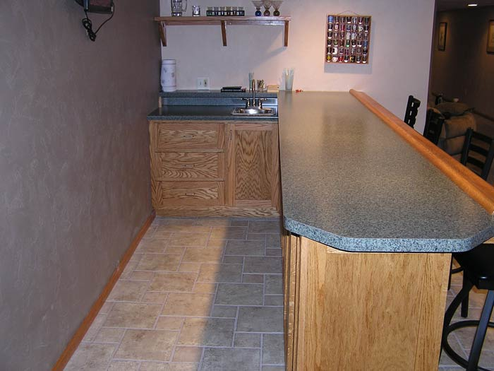 Novitske custom homes llc project photo gallery - Custom bars for homes ...